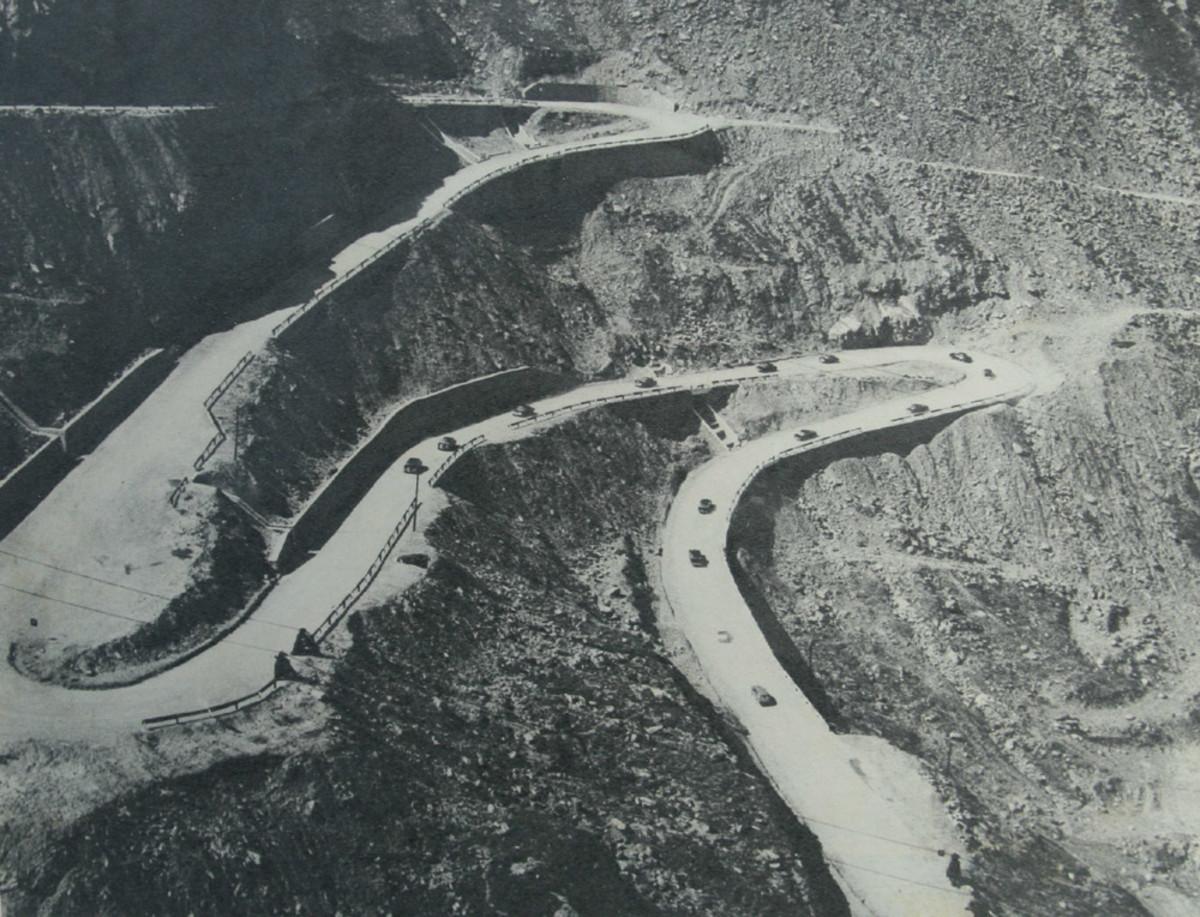 Transfăgărășan in 1974.