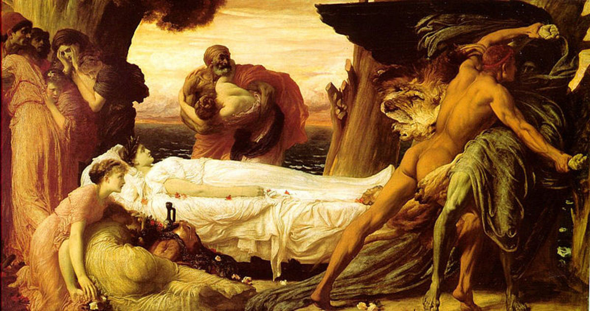 Frederic Leighton (1830–1896) PD-art-100