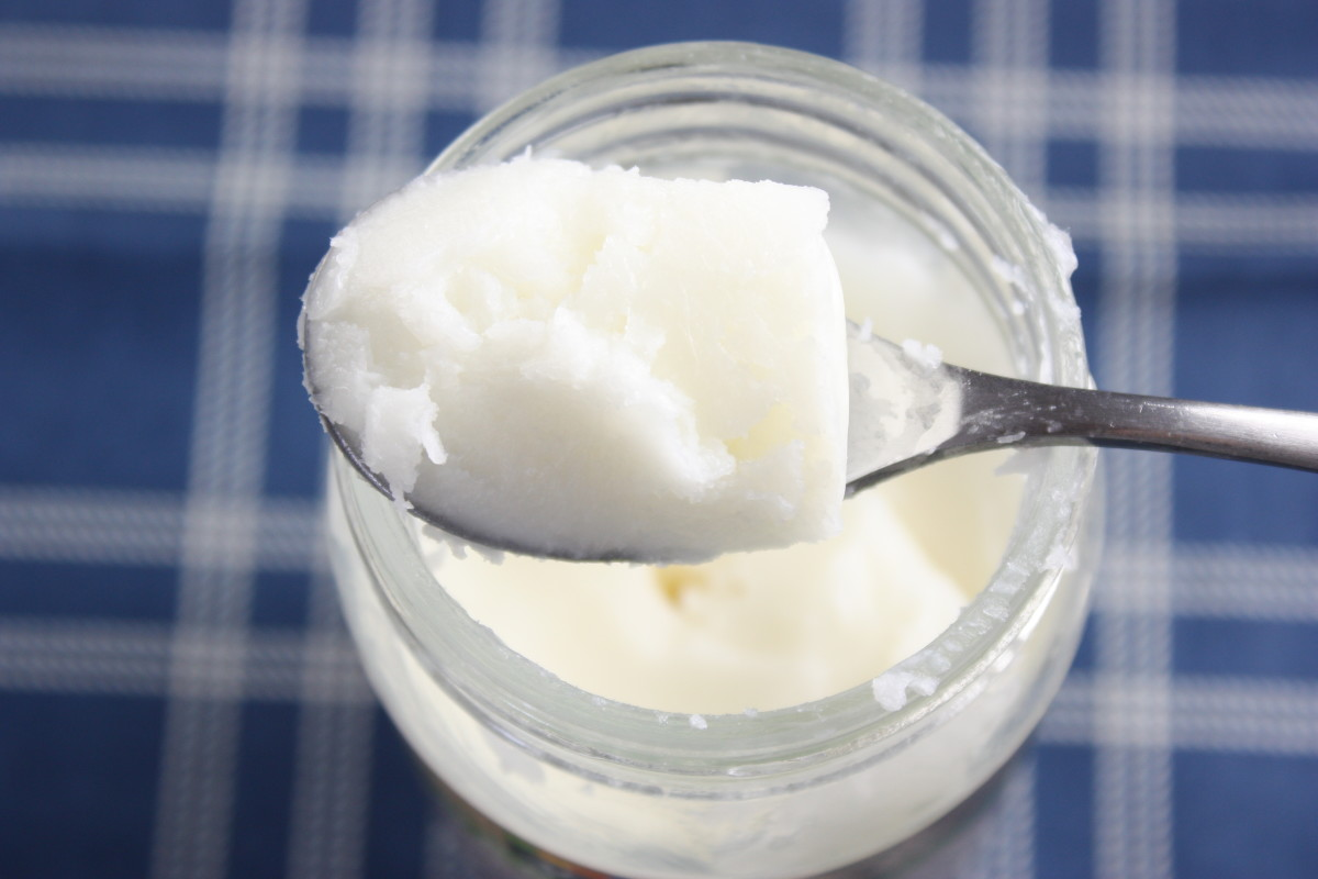 Coconut oil will have a soft, creamy consistency at room temperature or below.