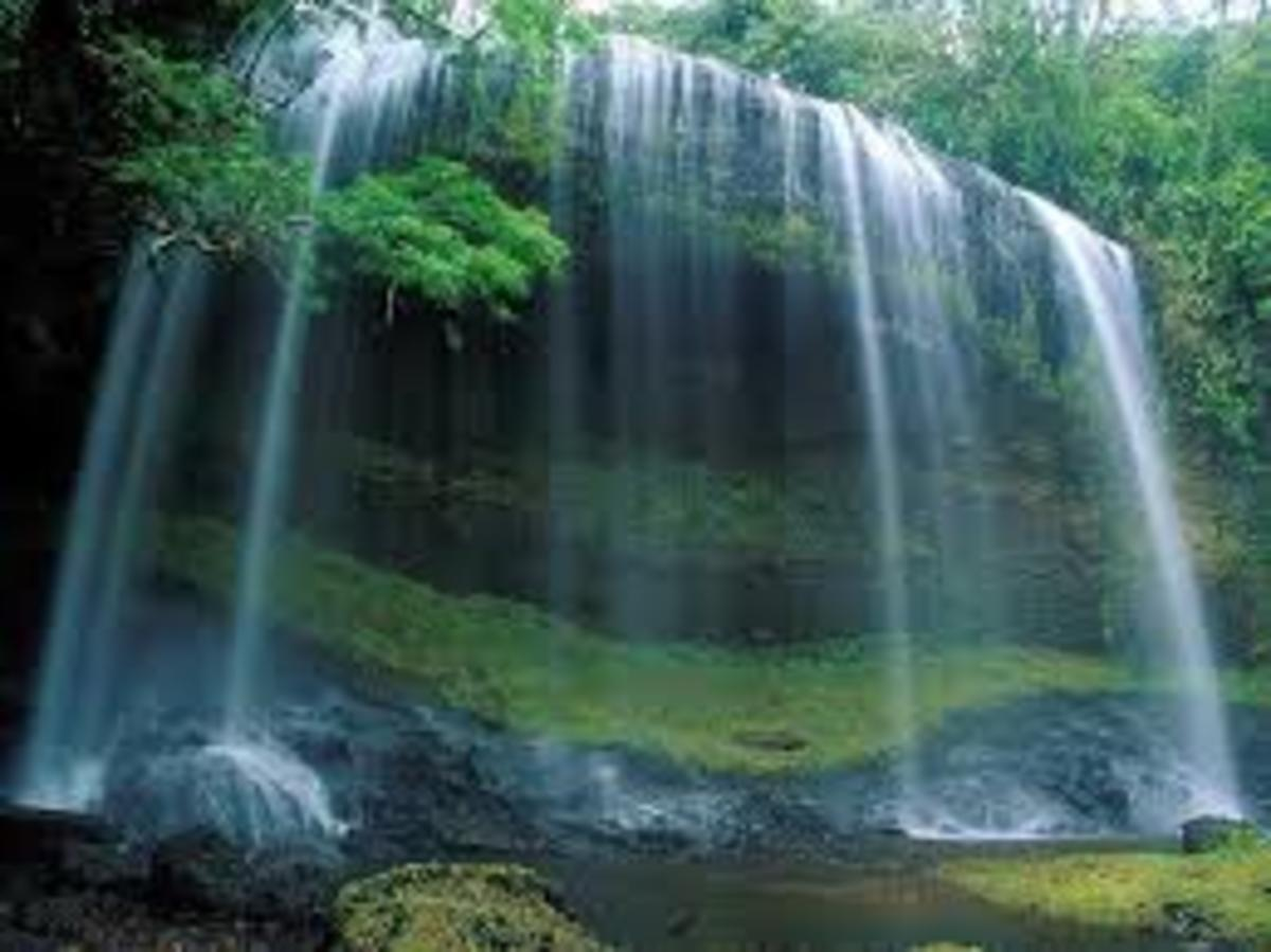 The Earths System Naturally Create Oxygen Rich Energized Water.