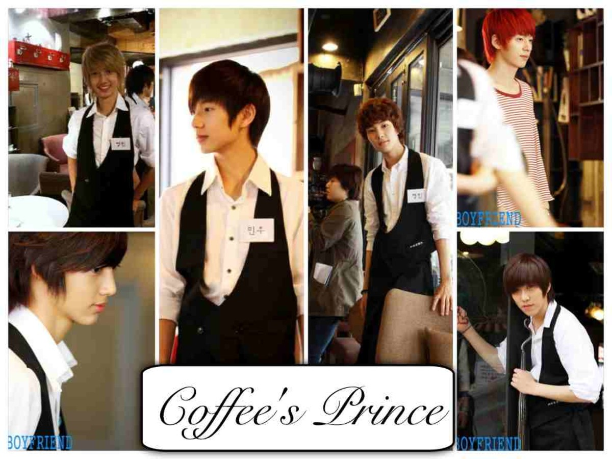 Coffee Prince Parody by Boyfriend