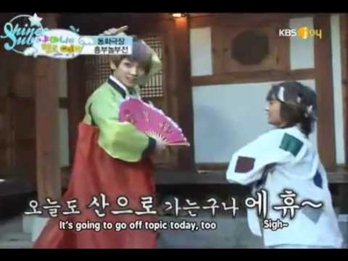 The Legend of Chunhyang Parody by Shinee