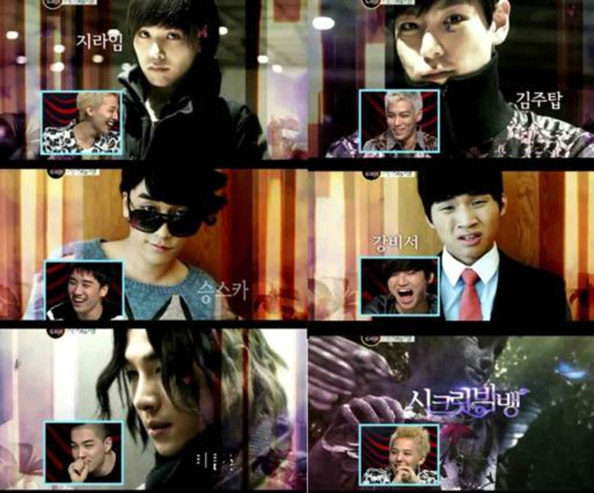 "Big Bang's ""Secret Garden"" Parody"