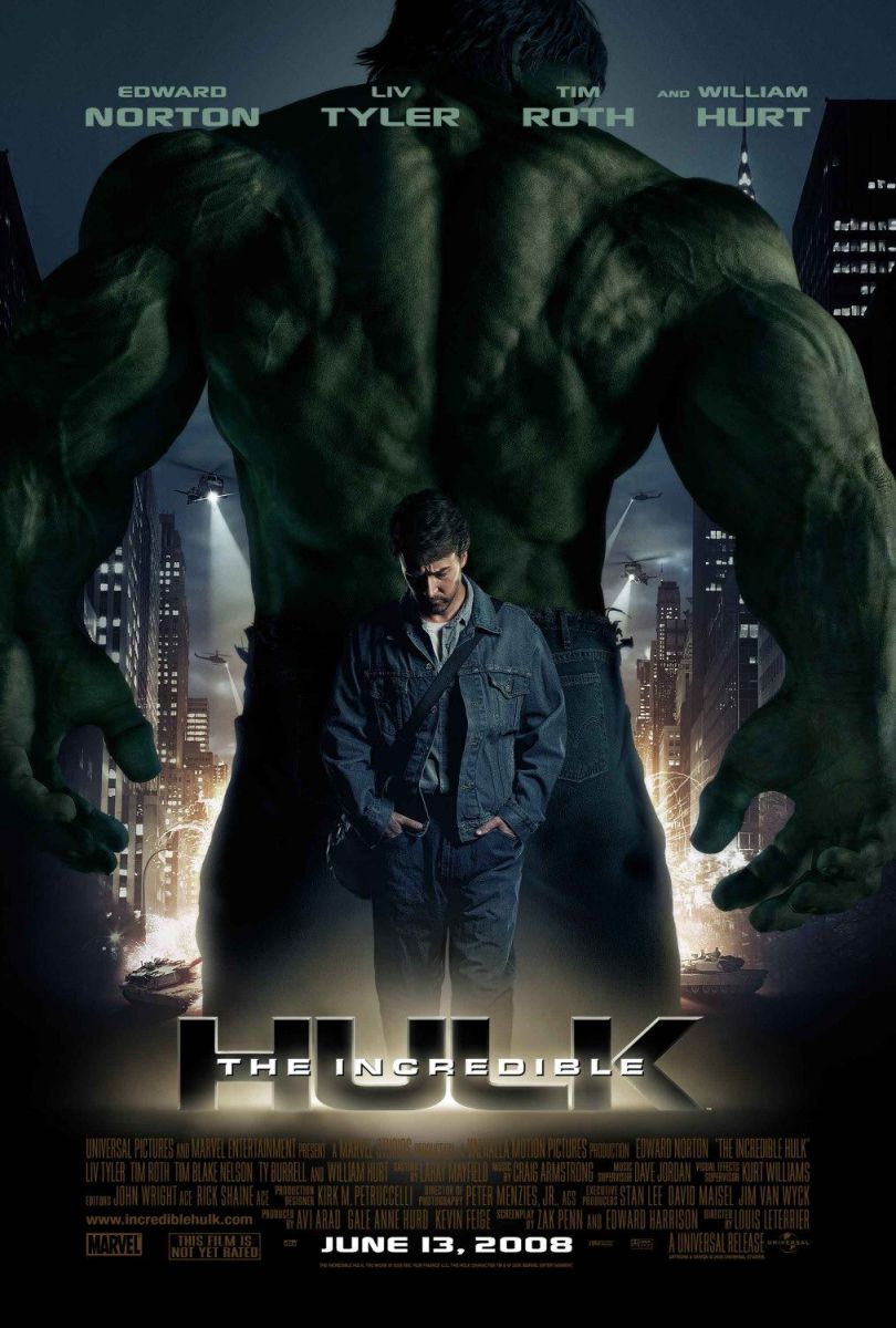 """Poster for """"The Incredible Hulk"""""""
