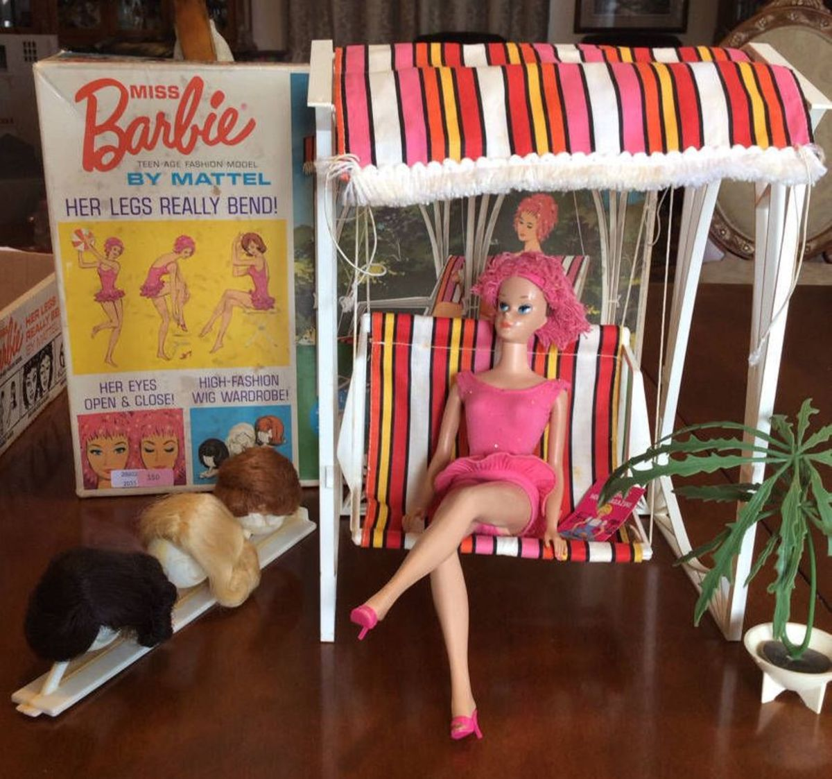Miss Barbie Swing Set