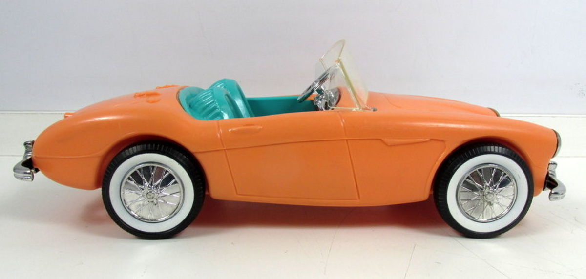 Barbie Doll's Austin-Healey sports car, 1962