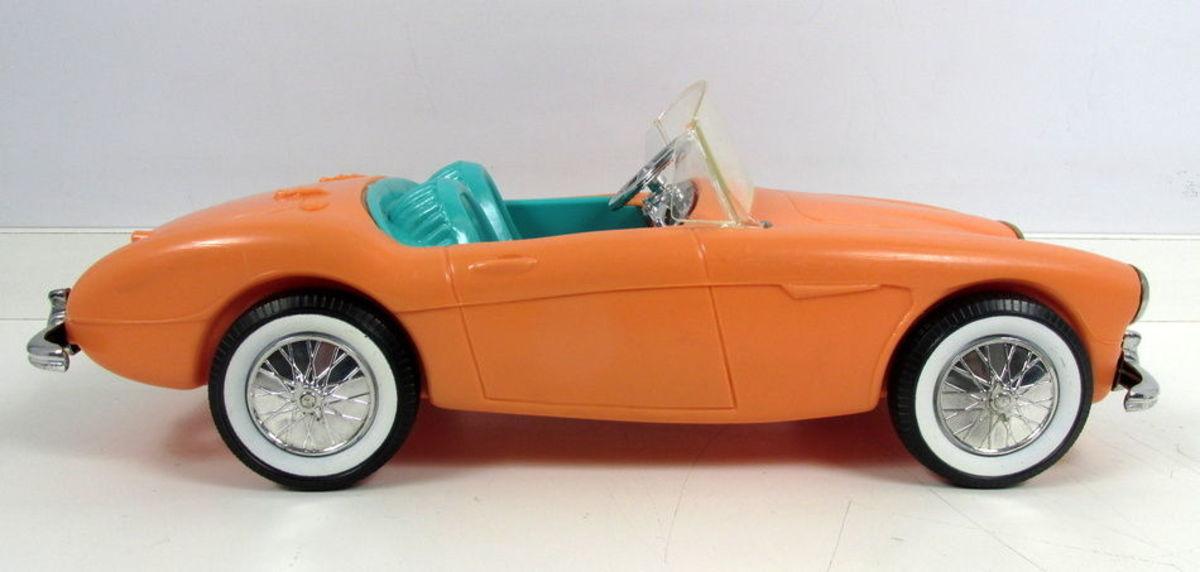 Barbie Doll's Austin-Healey sports car, 1962