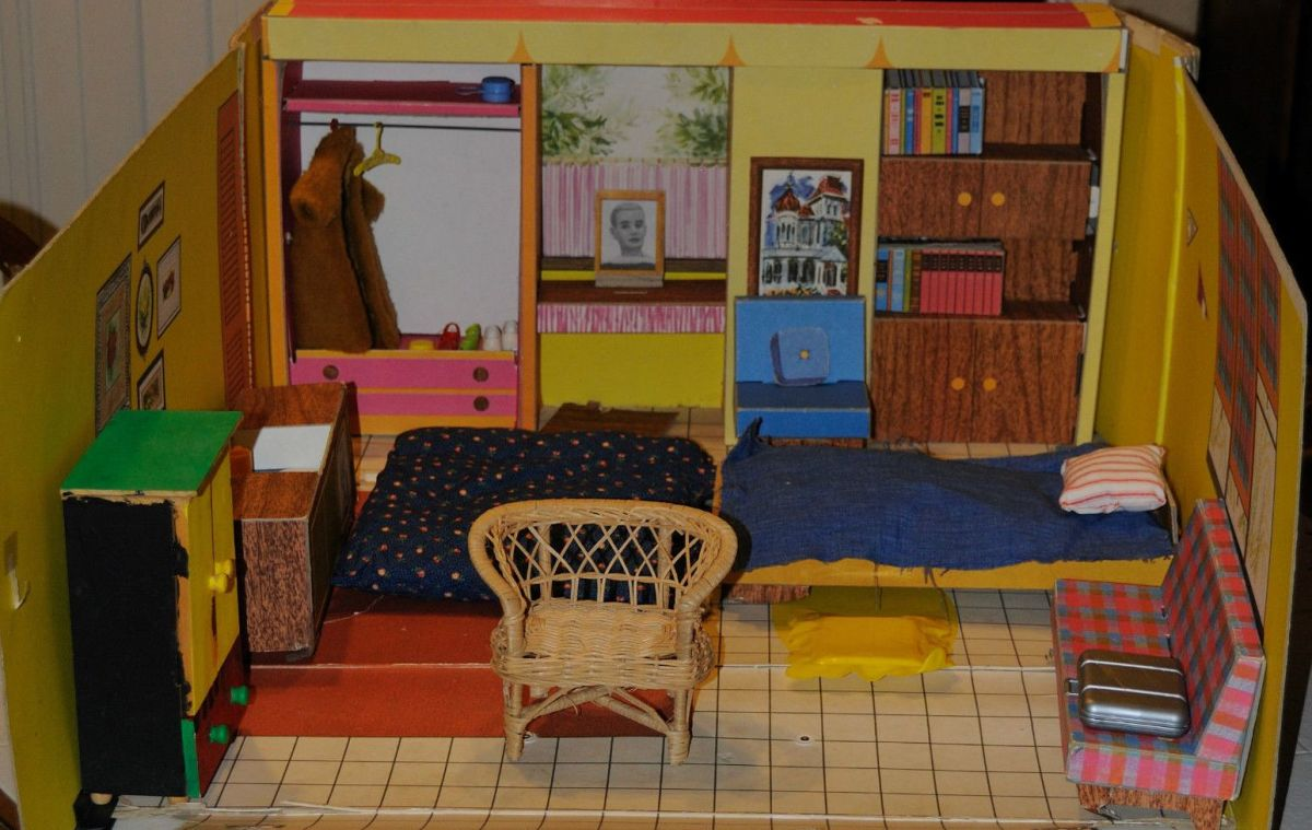 Barbie's Dream House 1962