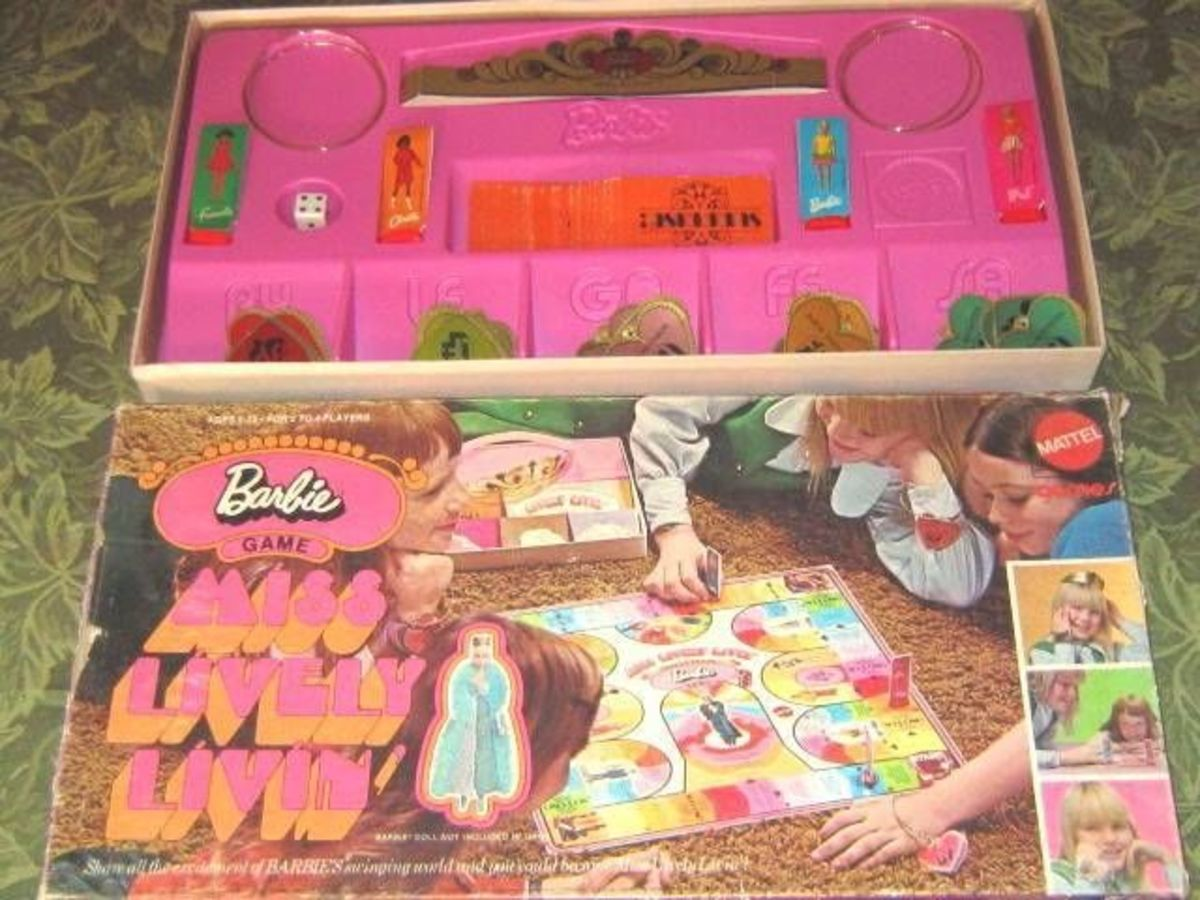 Barbie game: Miss Lively Livin'