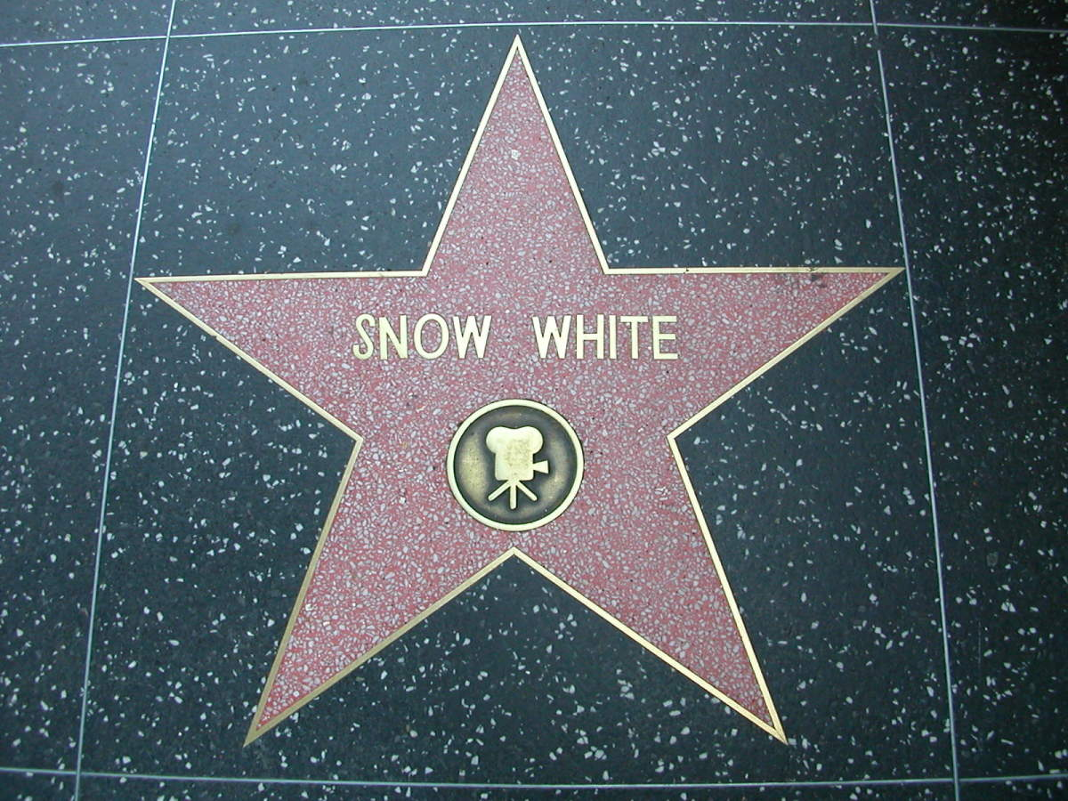 Snow White having her own star on the Walk of Fame shows how much influence she has on our culture and vice versa.