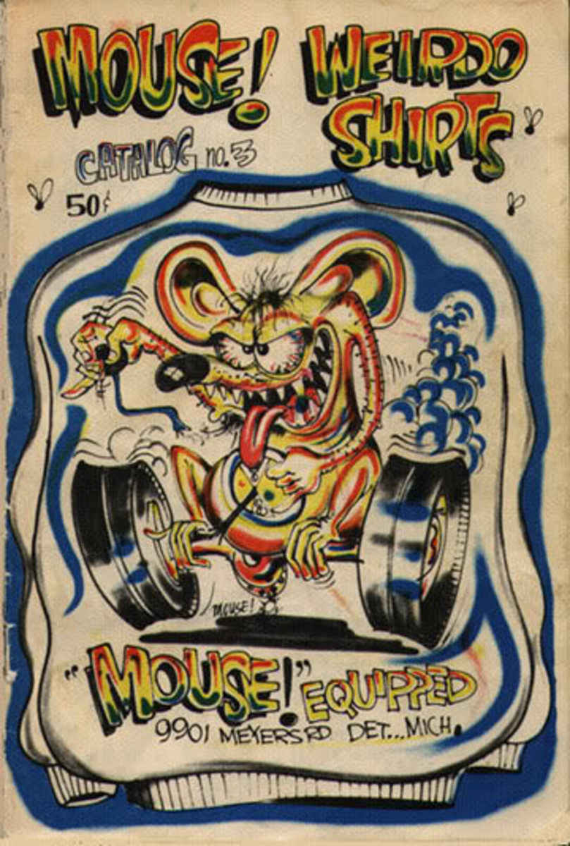 Mouse Weirdo Shirts Mail Order Catalog #3 Mouse Equipped