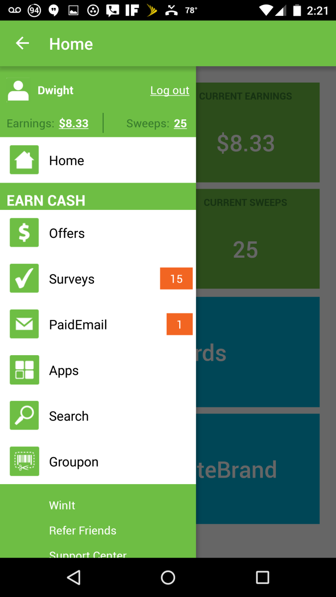 Refer a friend to use Inbox Dollars to earn dollars