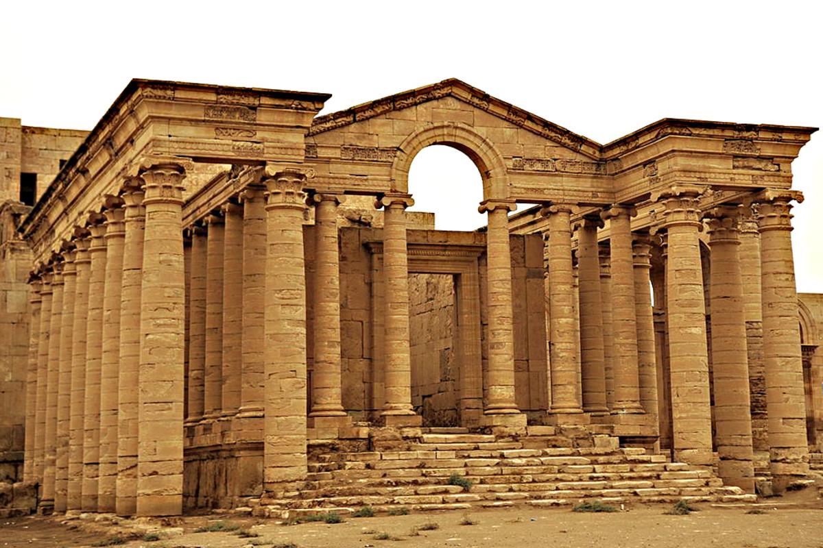 The Temple of Shamash at Hatra