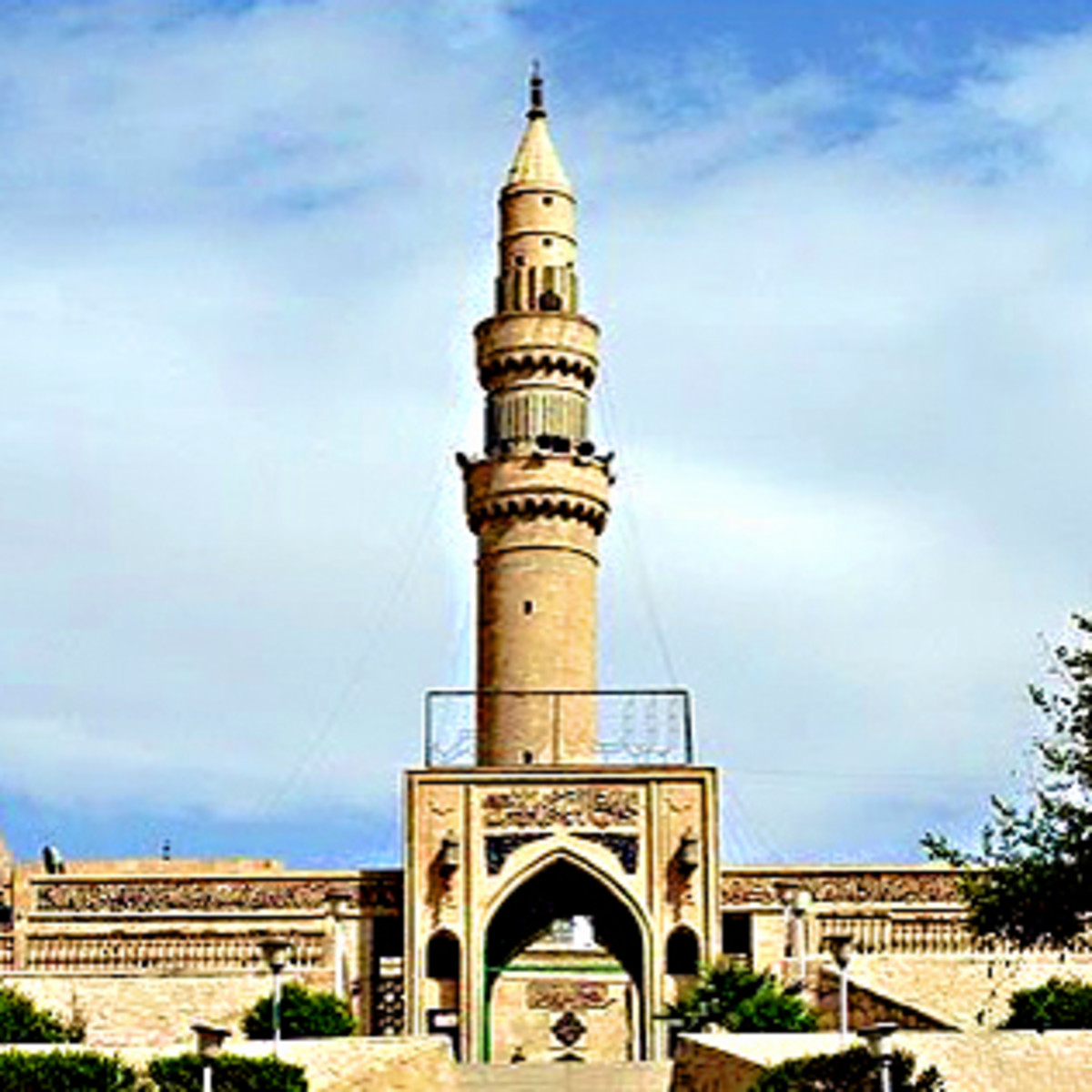 The historic Mosque of the Prophet Younis (Jonah)  - destroyed by ISIL in 2015