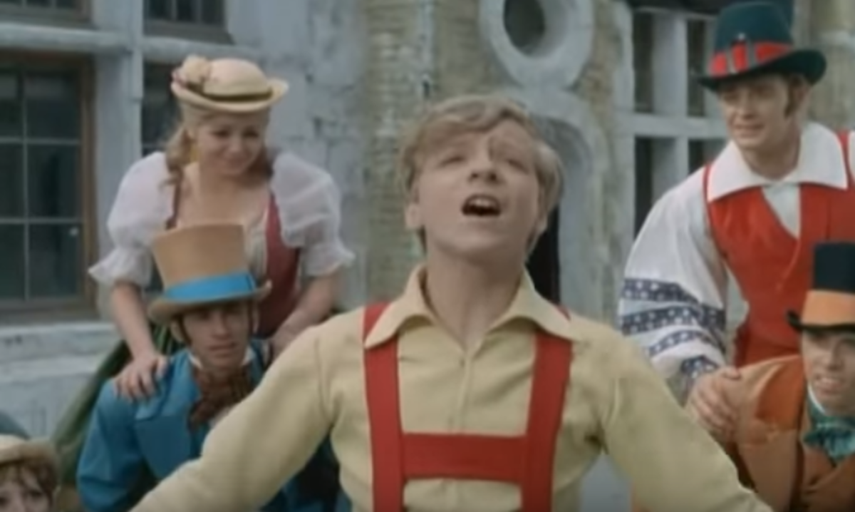 Paul O'Keefe plays a young Hans Christian Anderson