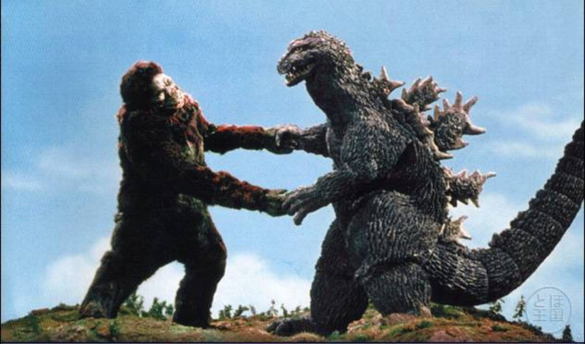 "King Kong had previously been used in Toho's 1963 film ""Godzilla vs. King Kong""."