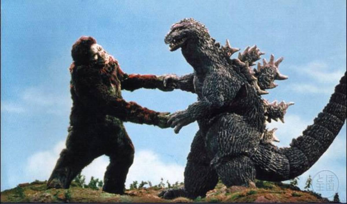 """King Kong had previously been used in Toho's 1963 film """"Godzilla vs. King Kong""""."""