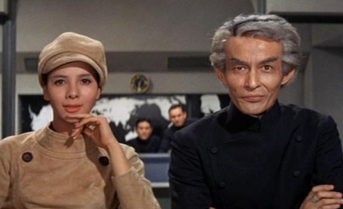 Madame Piranha and Dr. Who