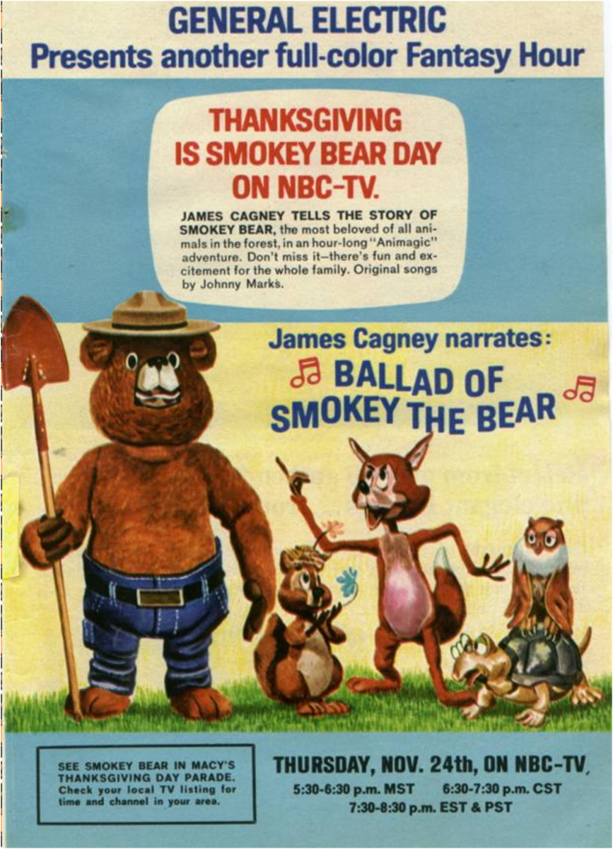 Promotional advertisement for the special