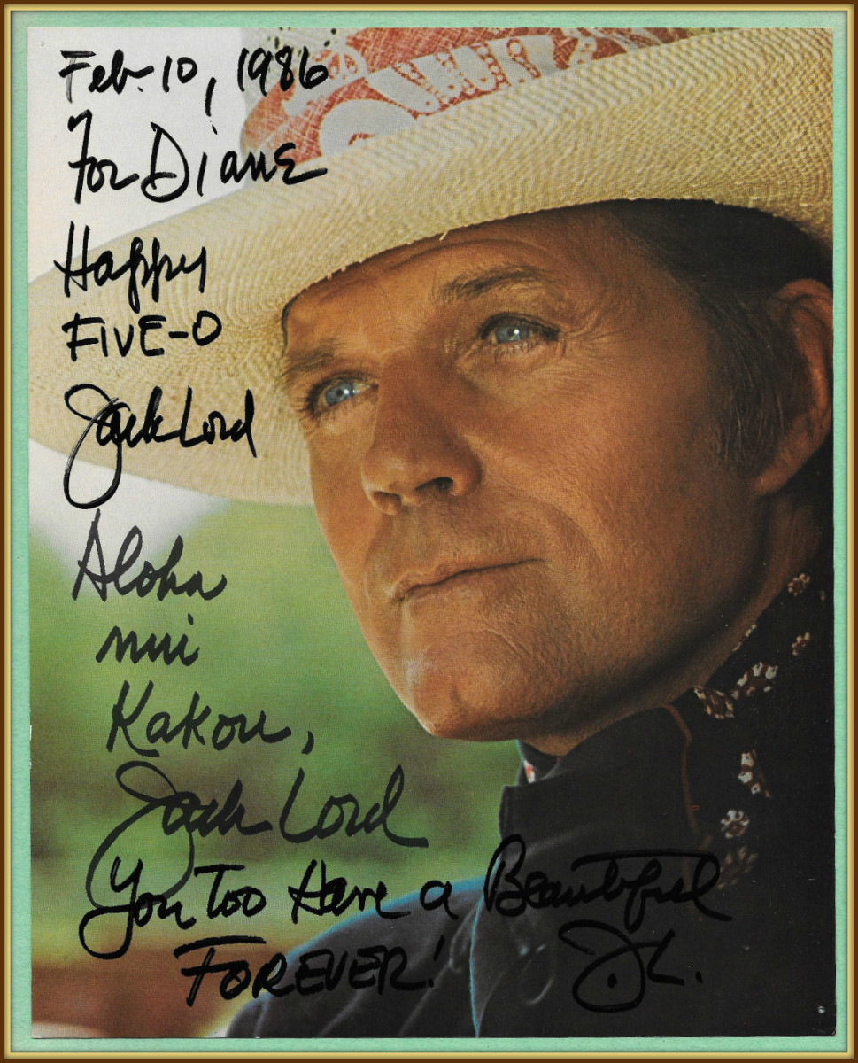 """Jack Lord had an amazing television series called, """"Hawaii Five-O"""", from 1968-1980.  Jack really loved his fans. He would not go into Politics because he did not want to lose any of his fans."""