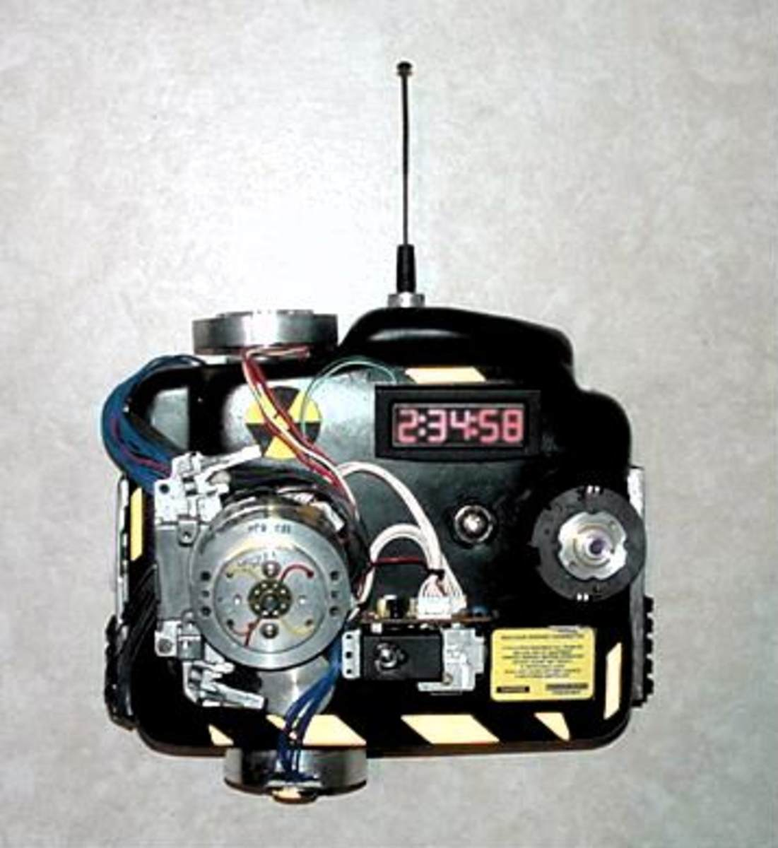 The detonation system to put the suitcase nuke on a timer.