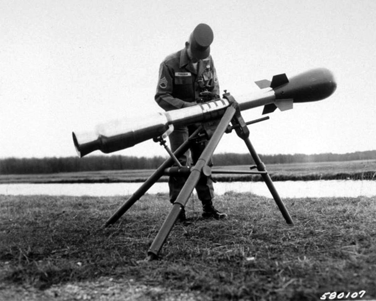 "Classic image of the ""Nuke Rifle"""