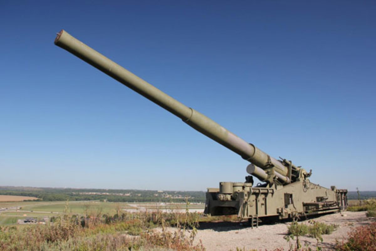A derelict nuke cannon.