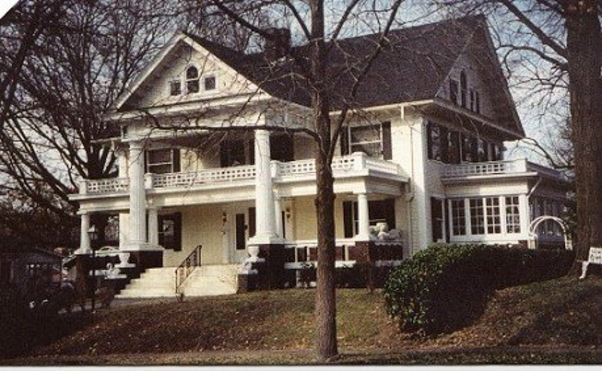 Former home of Dr. Dale Cavaness