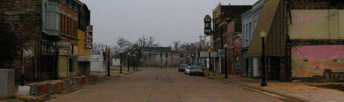 Cairo, Illinois as it is today