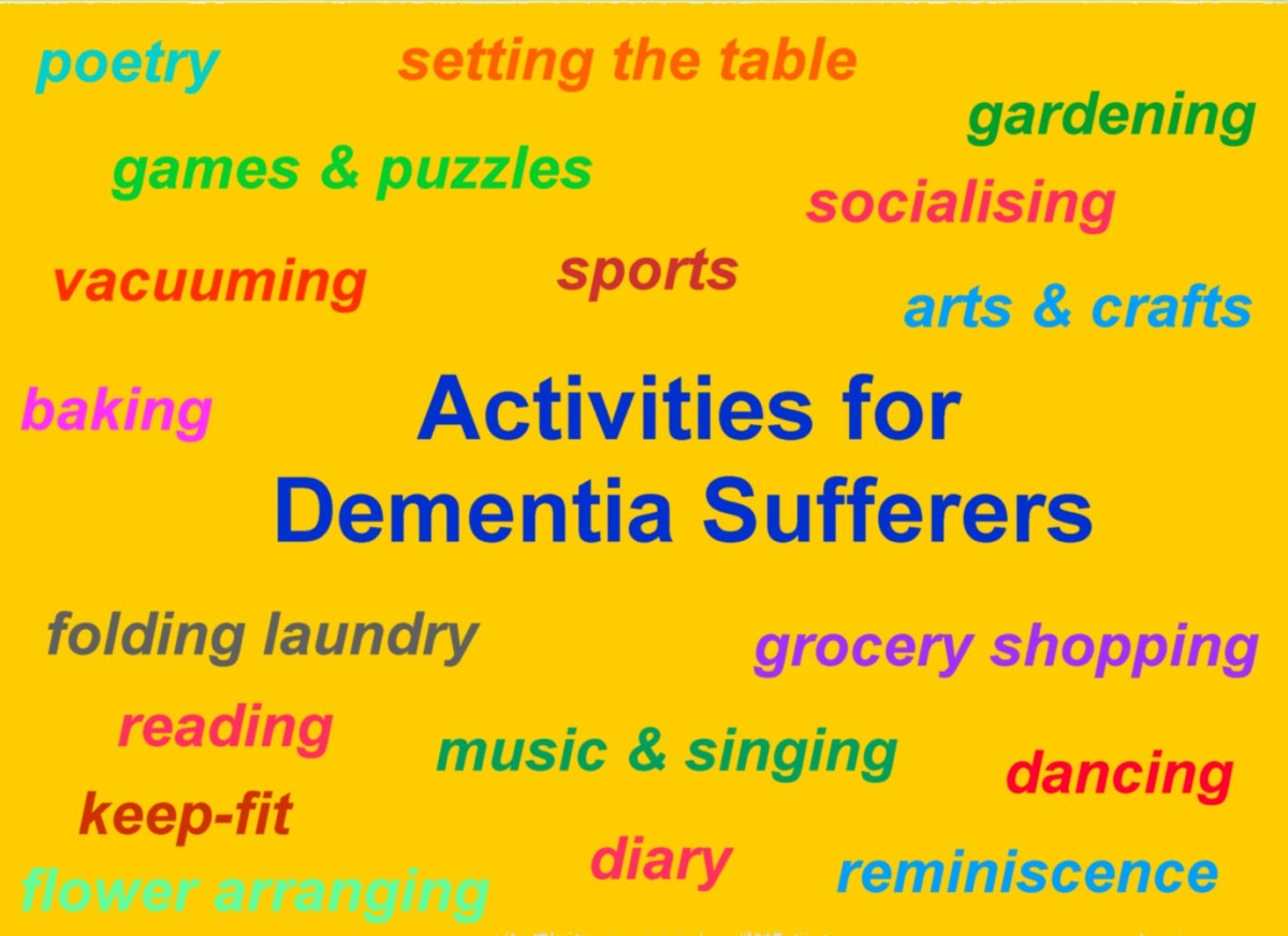 Dementia Care: Activities for Dementia Sufferers.