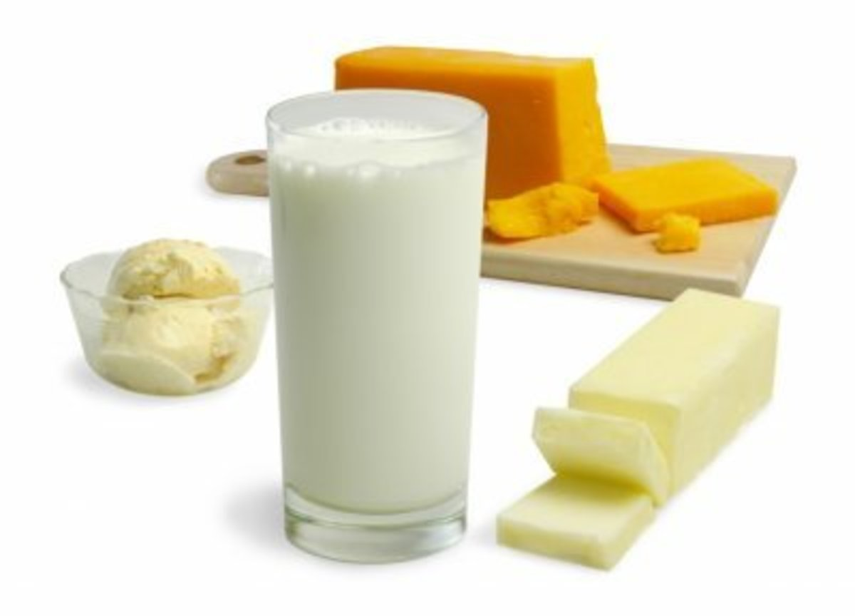 To avoid mucous/phlegm - avoid dairy products.