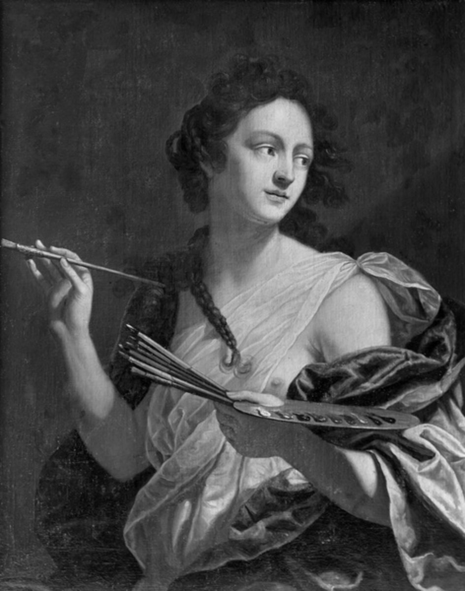 A Woman With The Soul Of Caesar Artemisia Gentileschi Hubpages