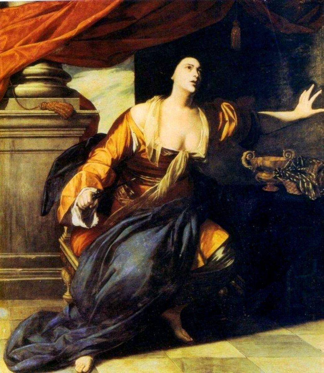 Lucretia by Artemisia Gentileschi