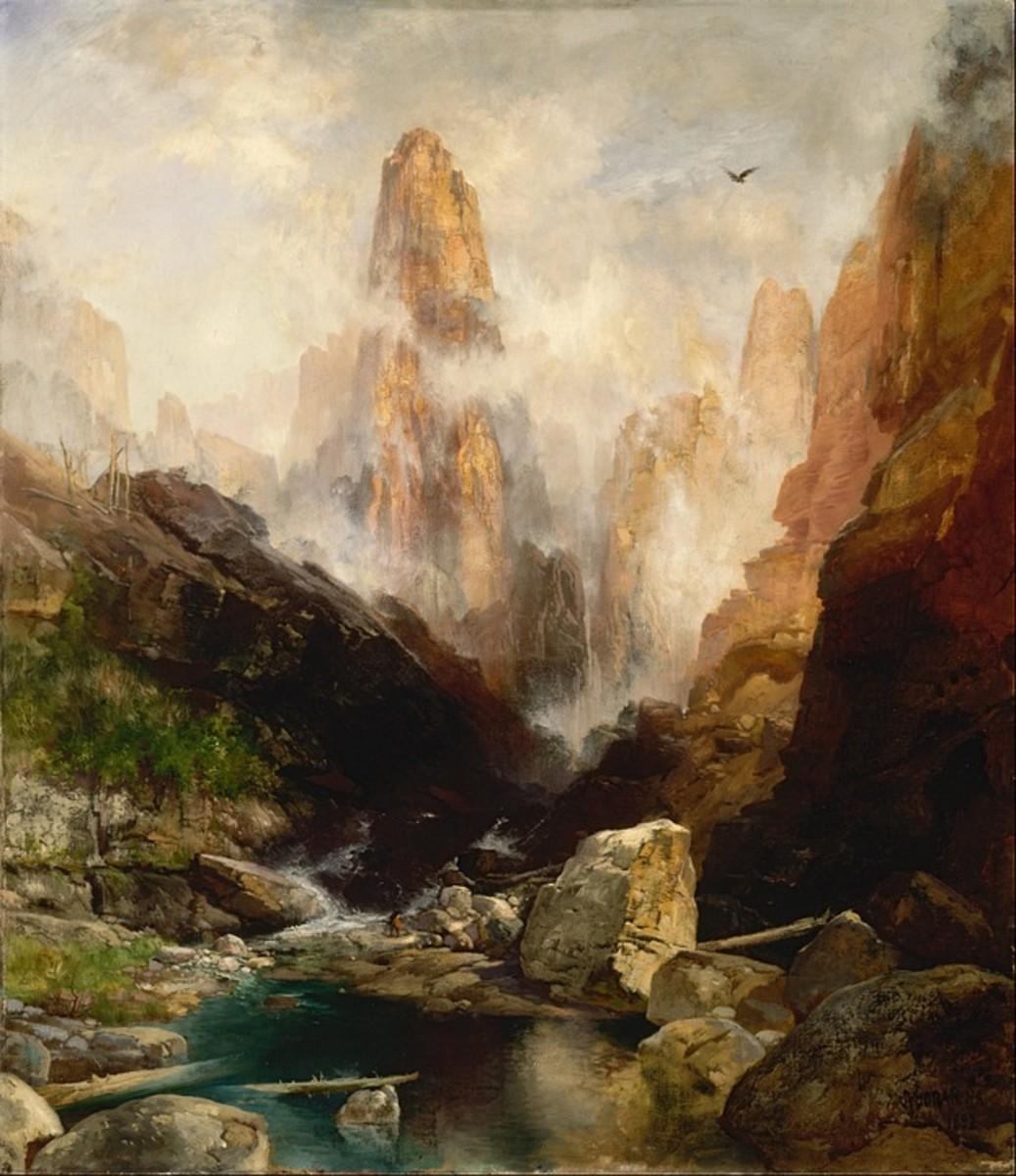 Thomas Moran painting.