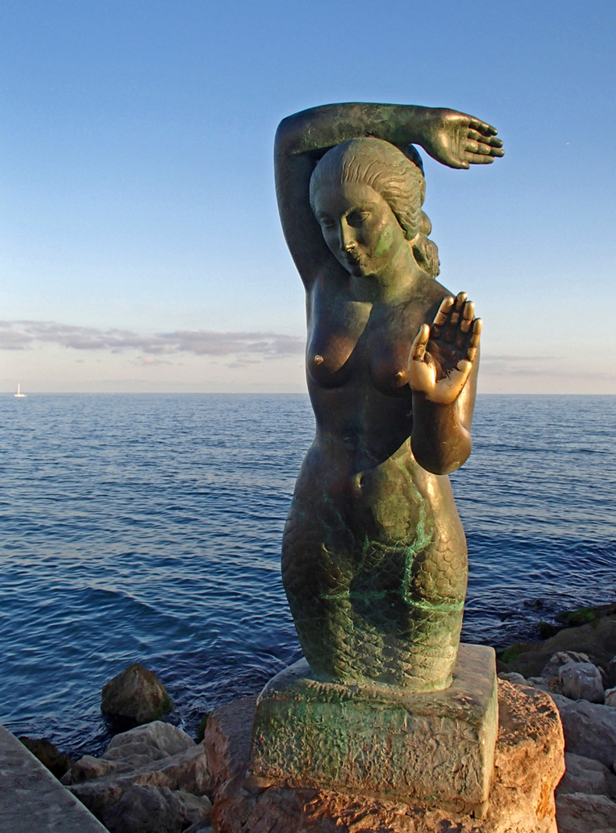 """Sirena de Sitges"" by Catalan artist Pere Jou."