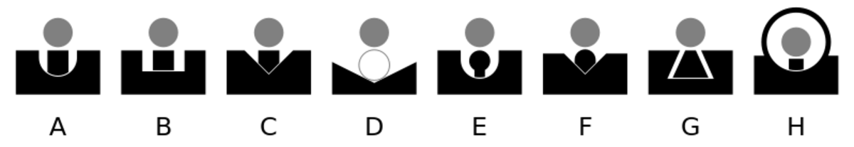 Iron sight types with express sight (D)
