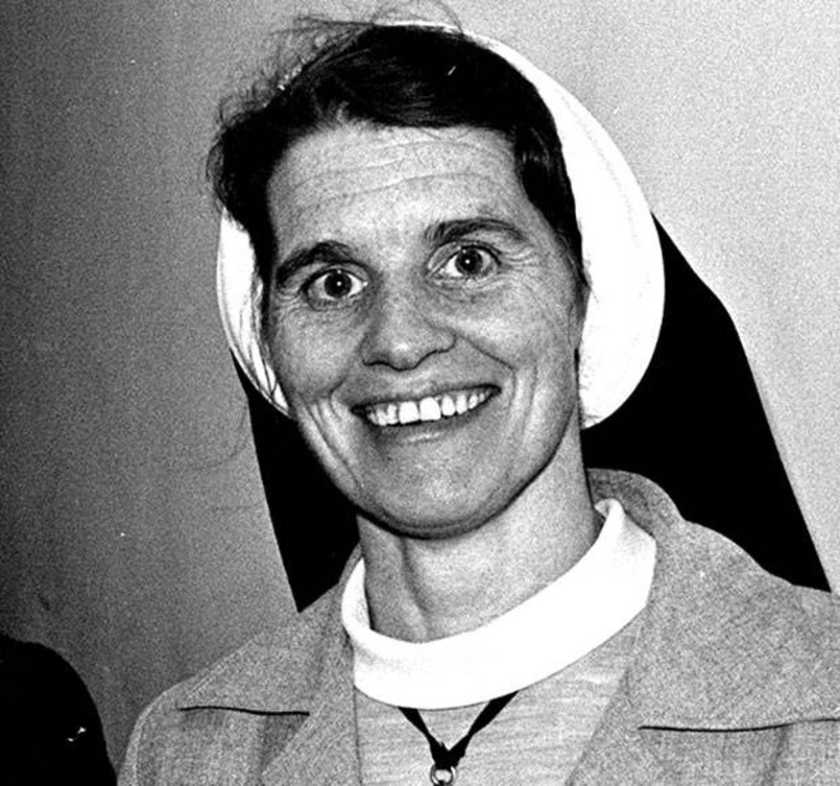 Born in 1939, Sister Stanislaus Kennedy is the recipient of many awards from 1981 to 2015 for her work aiding the disadvantaged of society.
