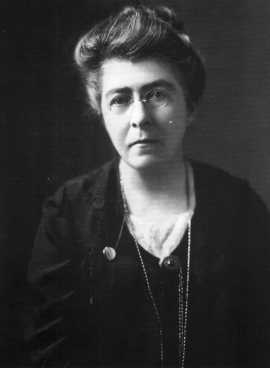 Skeffington (1877-1945) traveled to US to encourage WoodrowWilson to assist in  Ireland's  self-determination.