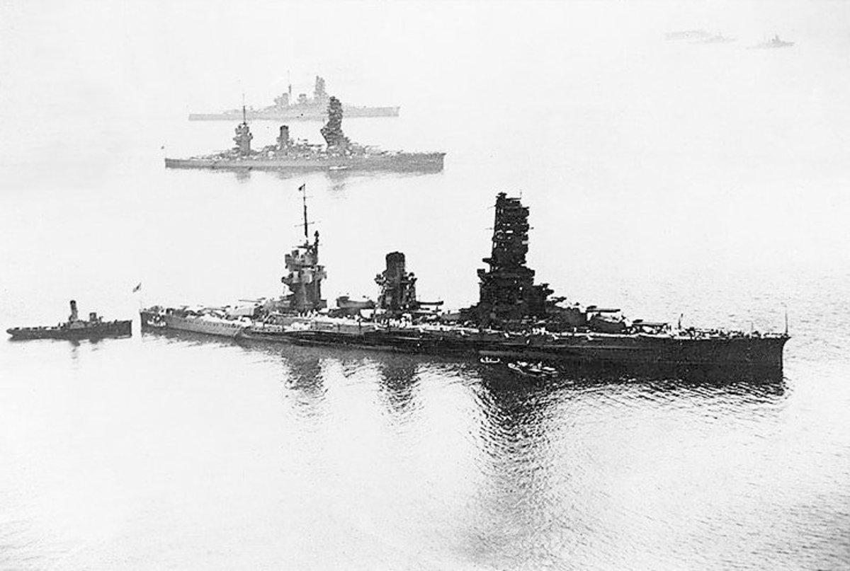 Yamato Class Battleships