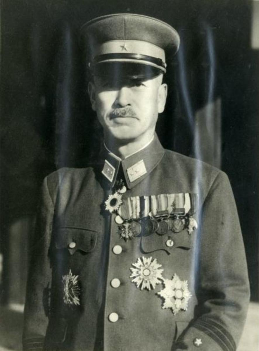 General Mitsuru Ushijima would have his troops lie low for a week on Okinawa until American troops had relaxed the vigilance. And then wage a Holy War on American troops to test their will.