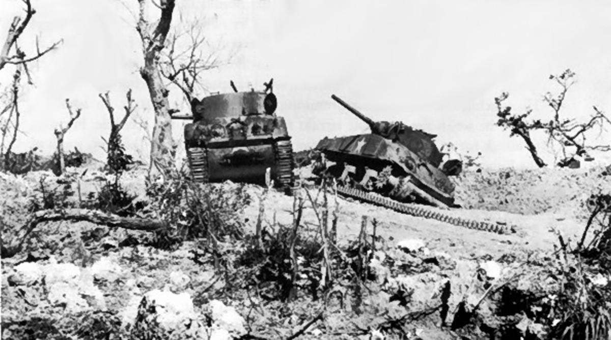 The Battle for Okinawa: Site of Hacksaw Ridge