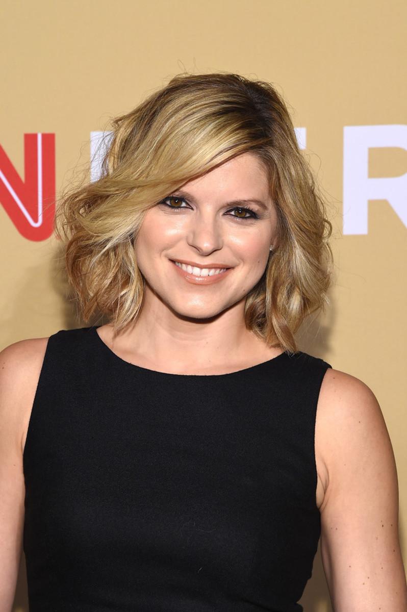 CNN news anchorwoman Kate Bolduan in New York City for the CNN Heroes All Star Tribute in November 2015.