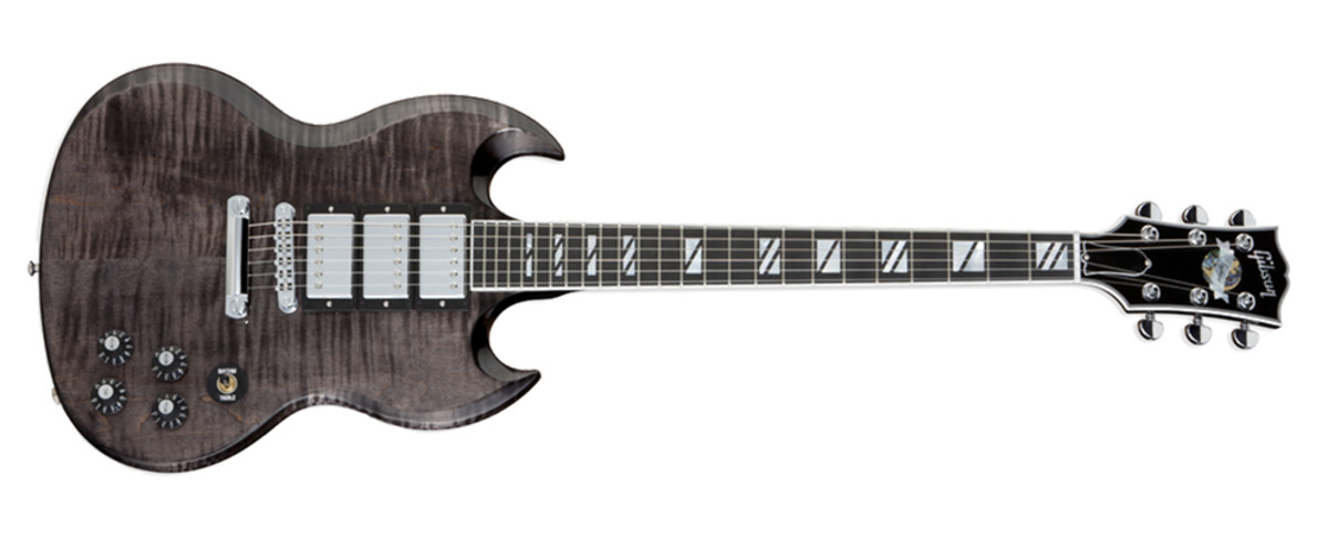 Gibson SG Supra Translucent Black finish