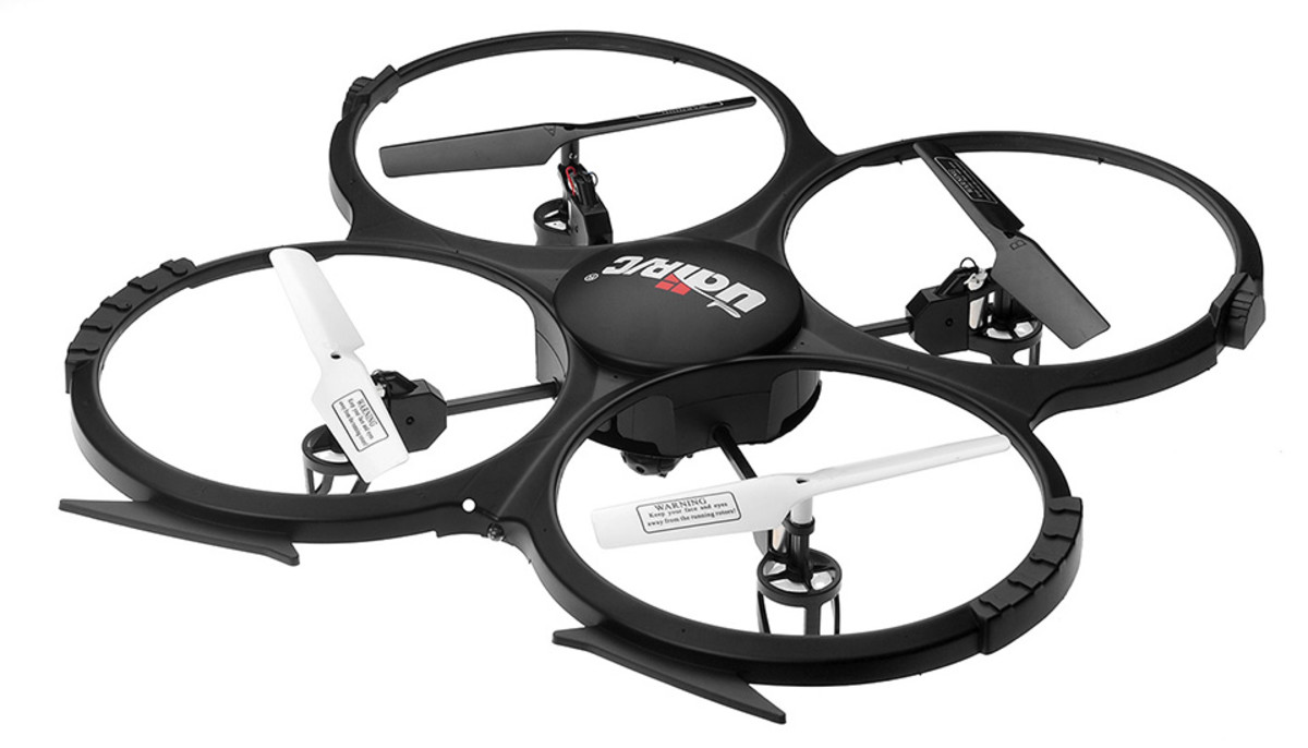 The UDI U818A Quadcopter features 6-axis gyro stabilization.