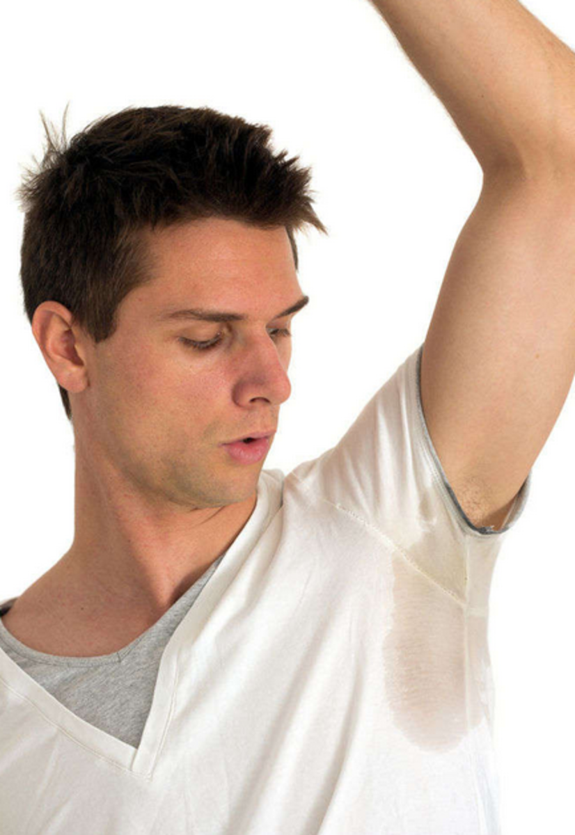 Sweating more in one armpit