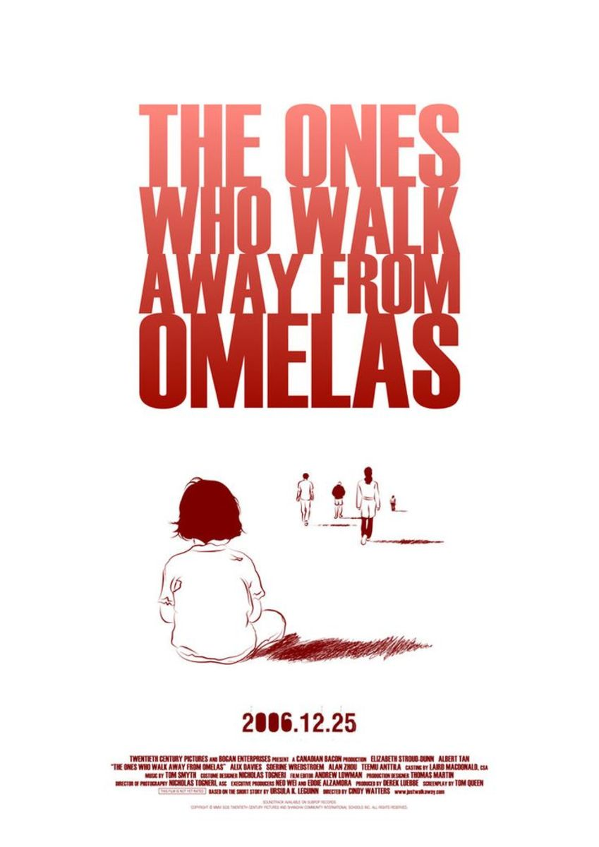 """The Ones Who Walk Away From Omelas"" by Ursula K. Le Guin."