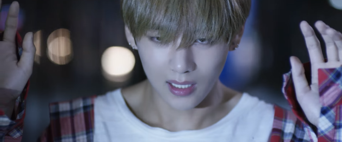 V letting himself get caught by the police.