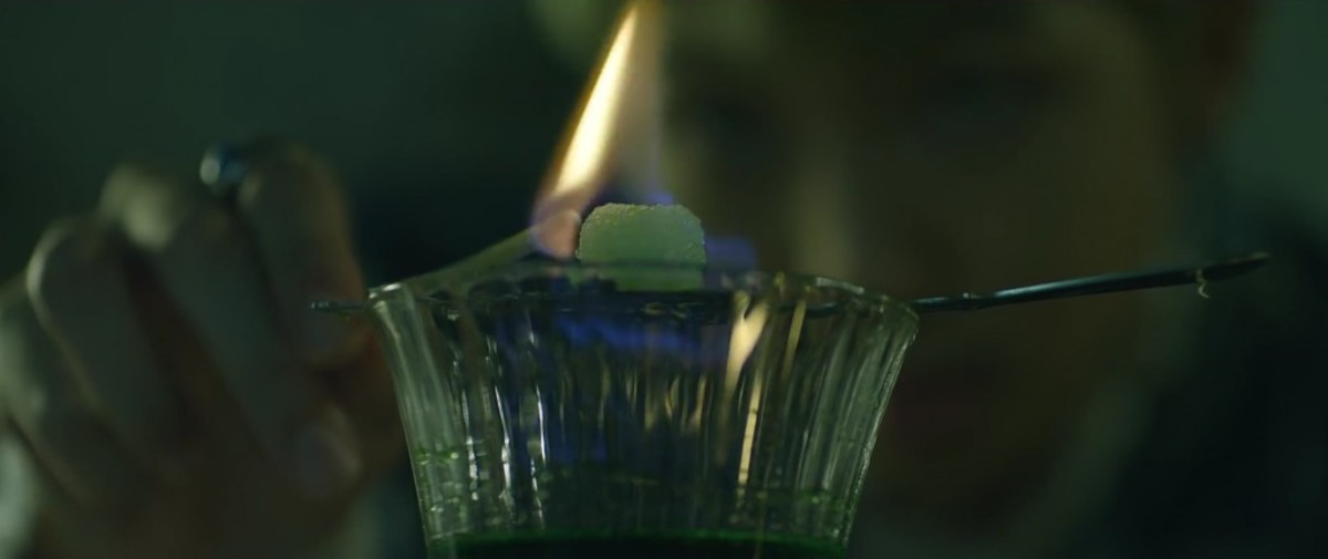 The Bohemian Method of preparing absinthe.