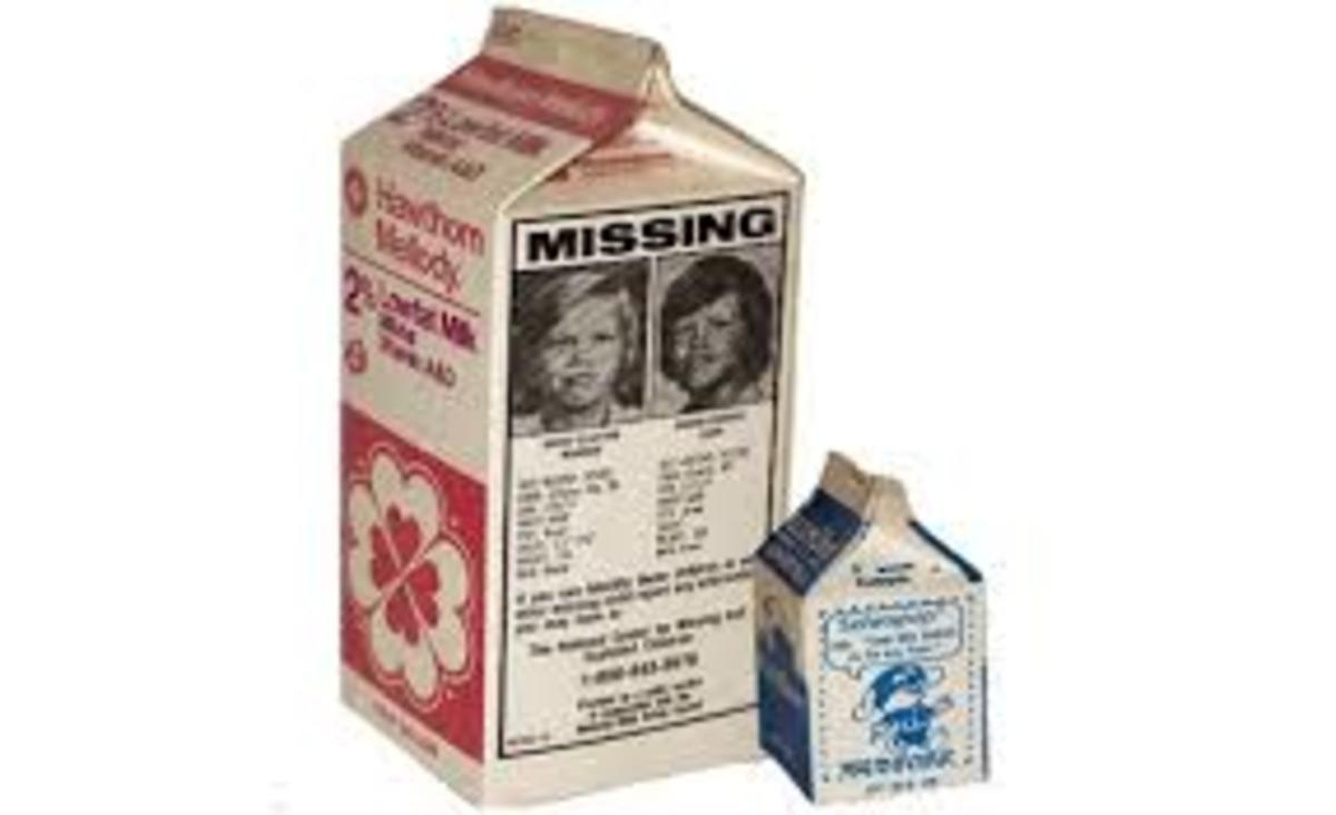 Etan Patz case - first missing child to be placed on a milk carton