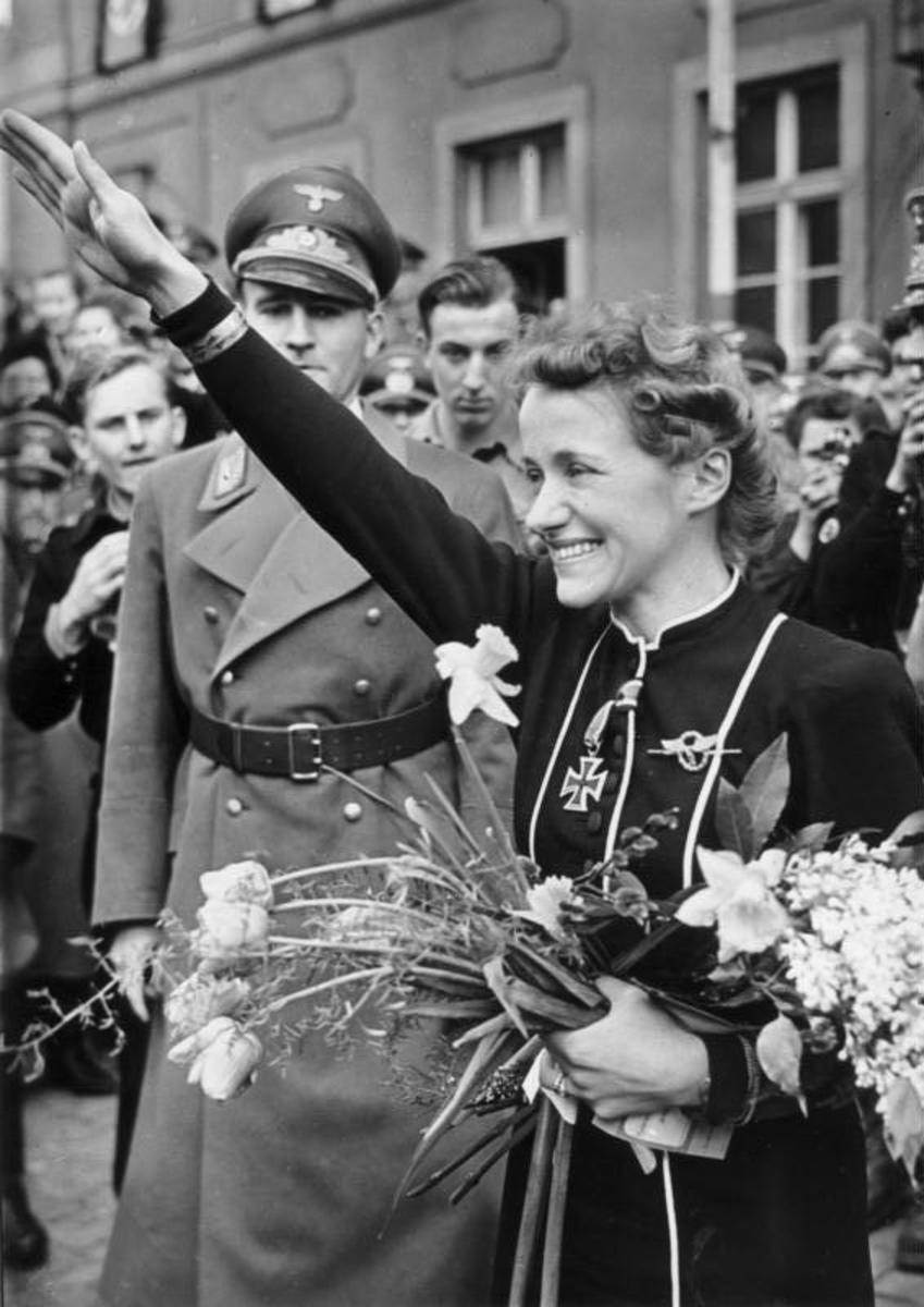 Hanna Reitsch, 1941
